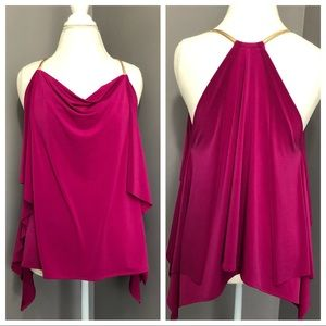 Express • Magenta Chain Tank Blouse